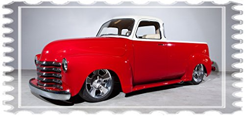 1950 Chevy Fleetside Pickup Truck Mouse Pad mousepad Classic Vintage Old Cars Hot Rods Speed Computer Dessktop Supplies