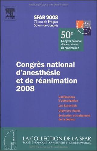 En ligne Congrès national d'anesthésie et de réanimation 2008 pdf