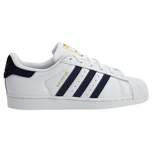 adidas Originals Damen Superstar Fashion Sneakers Weiß / Navy