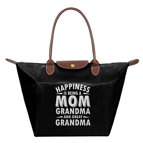 Black Beach Gift Bags Tote Womens Day Shoulder Handbag Bag Hobo Mother's Fashion vYzfwqXzP