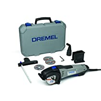 Dremel DSM20-3/4 - Sierra compacta (710 W, 3 complementos, 4 accesorios)