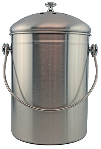 Stainless Steel Gallon Compost Filter