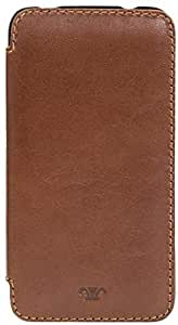 Kaizer KZ2706BR Galaxy S5 Single Fold Leather Case - Brown
