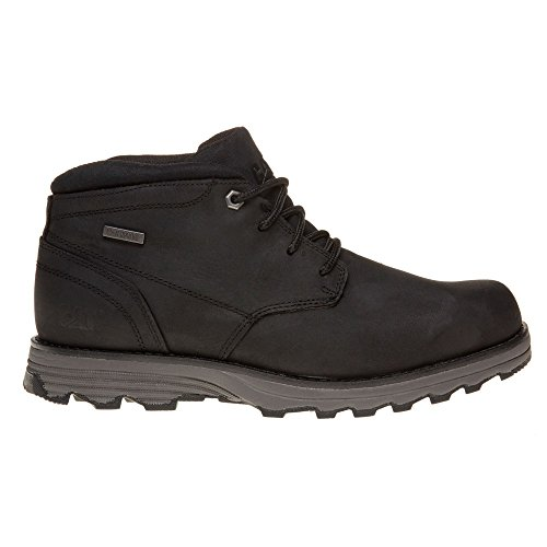 Caterpillar Mens Elude Waterproof Leather Boots Negro