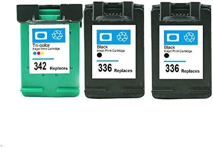 caidi HP 336/HP 342 Cartuchos de Tinta Compatible con Impresora HP ...