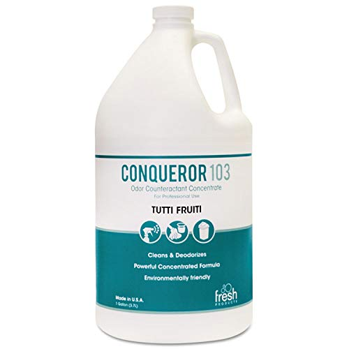 Fresh Products Conqueror 103 Odor Counteractant Concentrate, Tutti-Frutti, 1 Gallon - FRS1-WB-TU