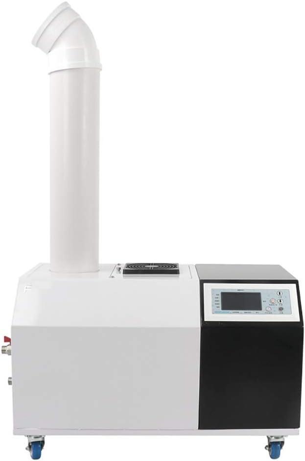 Huertuer 857/5000 Humidificador casero, Humidificador ultrasónico Taller Industrial Almacén Entrada de Agua automática Control Inteligente Fuselaje de Acero Inoxidable Ahorro de energía Bajo Consumo: Amazon.es: Hogar