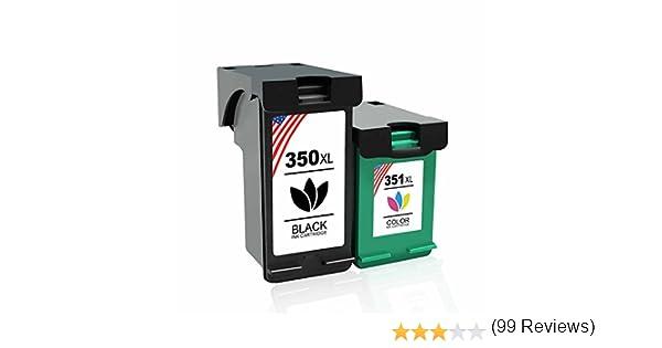 Toner Kingdom 2 Paquete Compatible HP 350XL 351XL 350 351 ...
