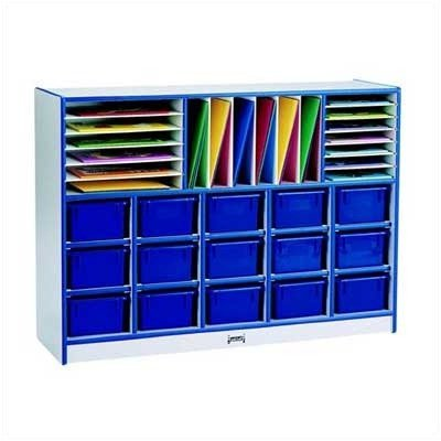 rainbow accents Sectional Mobile Cubbie Without Trays ()
