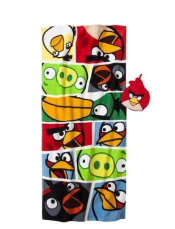 Angry Birds Bath Towel Wash