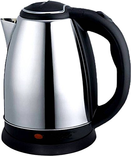 shopper 52 Stainless Steel Boiling Water Energy Saving Fast Electric Kettle (Multicolour, 2L)