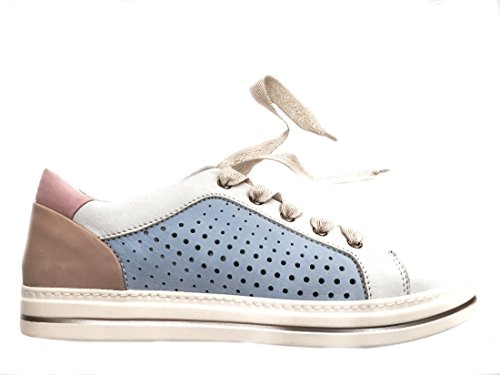 05801 MULTI Scarpa donna Melluso sneaker pelle made in Italy