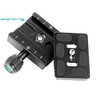 Abrazadera QR de aleación de aluminio de 60 mm + placa de cierre ...