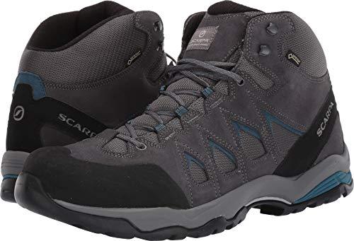 SCARPA Moraine Mid GTX Hiking Boot - Men's Grey/Lake Blue 42.5