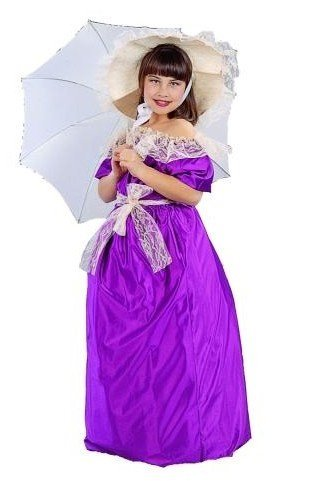 [Southern Belle-Sml, Child] (Southern Belle Child Halloween Costume)