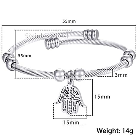 Stainless Steel Silver Yellow Gold Circle Round Link Chain Womens Bracelet