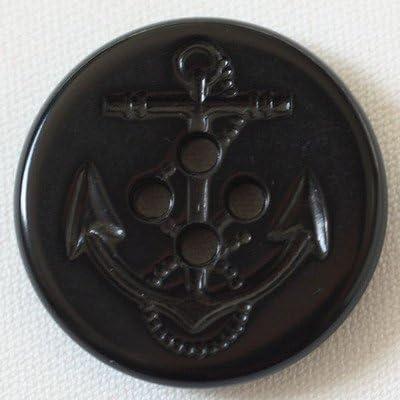 PLASTIC BUTTON(プラスチックボタン) BF21-09 18mm 09黒