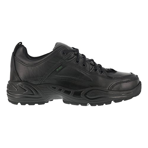 Reebok Mens Black Leather Work Shoes Postal Express Goretex Oxfords 10.5 M ()