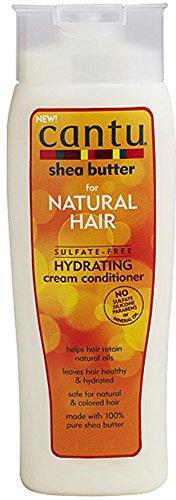 Cream Hydrating Conditioner - Cantu Sulfate-Free Hydrating Cream Conditioner, 13.5 Fluid Ounce (Pack of 4)