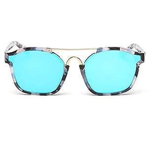 Heartisan Fashion Oversized Rimmed Sungrasses Sexy Eyewear UV Protection C3