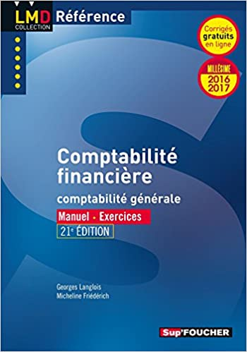 Téléchargement Comptabilité financière - 21e édition - Millésime 2016-2017 - Nº20 pdf, epub