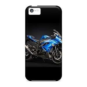 New Cute Funny Blue Ducati Case Cover/ Iphone 5c Case Cover