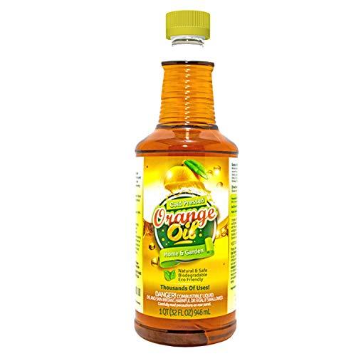 Pure Cold Pressed ORANGE OIL Concentrate - 32 oz (D-Limonene)