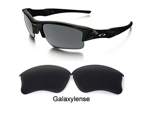 Galaxy Replacement lenses For Oakley Flak Jacket XLJ Polarized Black 100% UVAB (Lenses Flak Oakley)