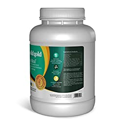 Solid Gold SeaMeal Kelp-Based Overall Wellness & Nutritional Supplement Powder for Dogs & Cats, All Ages, All Sizes, 5 lb Tub