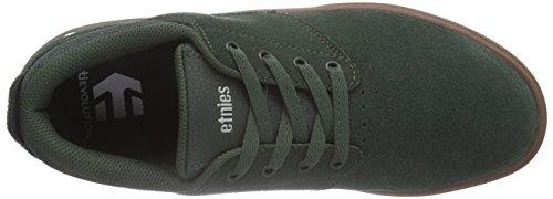 Etnies JAMESON MT - zapatillas deportivas altas de cuero hombre Verde - Green (Green/Gum)