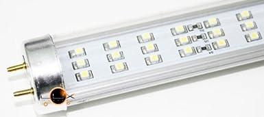 Tubo LED T81200mm cristal 18W blanco frío