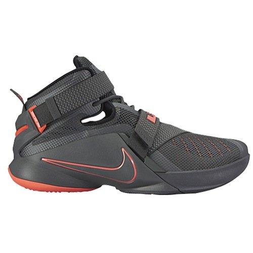 Nike Men's Lebron Soldier IX PRM Dark Grey/Dark...