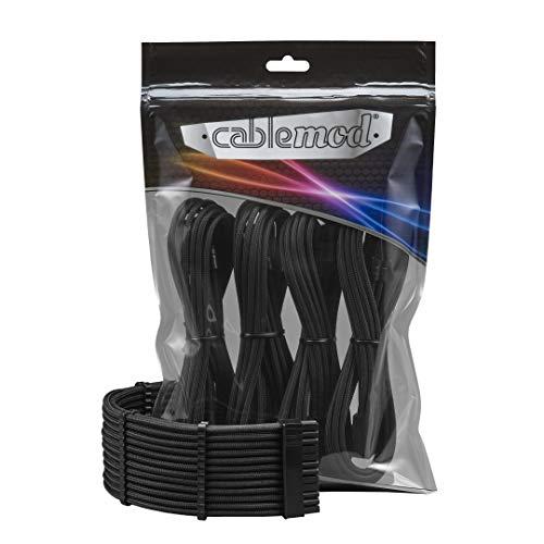 CableMod PRO ModFlex Cable Extension Kit - 8+6 Series - Black [CM-PCAB-BKIT-86KK-3PK-R]