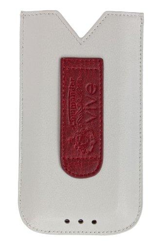Commander 13076 Vive Case für Apple iPhone 5/5C/5S weiß/rot