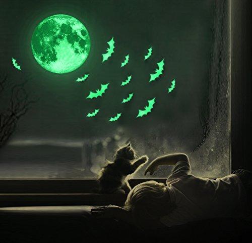 Luminous Sticker, Proboths Creative Halloween Luminous Sticker Glow