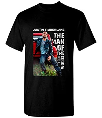 Justin Timberlake Shirt The Man of The Woods Tour T Shirt Black
