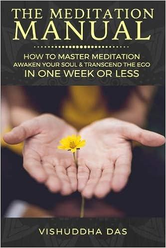 epub download the meditation manual how to master meditation