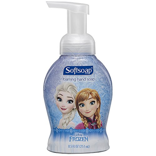Softsoap Foaming Hand Soap for Kids, Frozen - 8.5 fluid ounce (6 (Palmolive Scented Bar Soap)