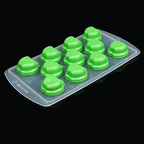Ice Cube Mold, Oldeagle Silicone Ice Cube Jelly Chocolate Fruit Cake DIY Mould Mold Tray Pudding (Chocolate Fruitcake)
