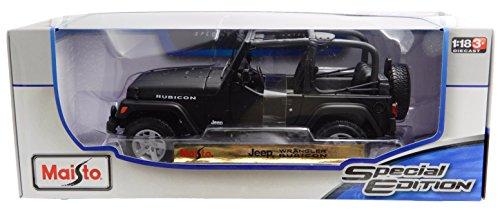 Jeep Wrangler Rubicon Special Edition 1:18 Scale Diecast Model by Maisto (Infiniti Diecast 1 18)
