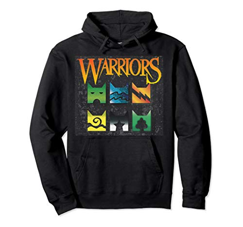 (Warrior Cats Clan Icons T-Shirt | boy and girls book readers Pullover Hoodie)