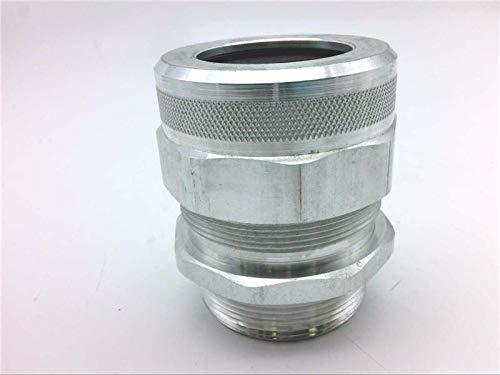 Alum REMKE RSF-6006 2 Holes @ Festoon Cable Connector 1.65 X .22 2 NPT