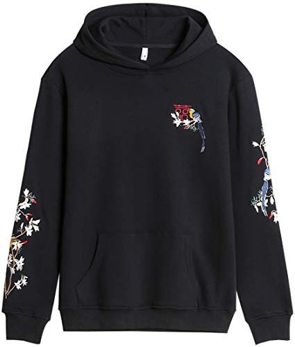 Chaos World Men's Fashion Hoodie Embroidered Hoodies Men's Sweatshirt Magpie XL