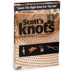 BENNETT MARINE VIDEO Bennett DVD - Scott's Knots: Learn How To Tie Knots / H610DVD /