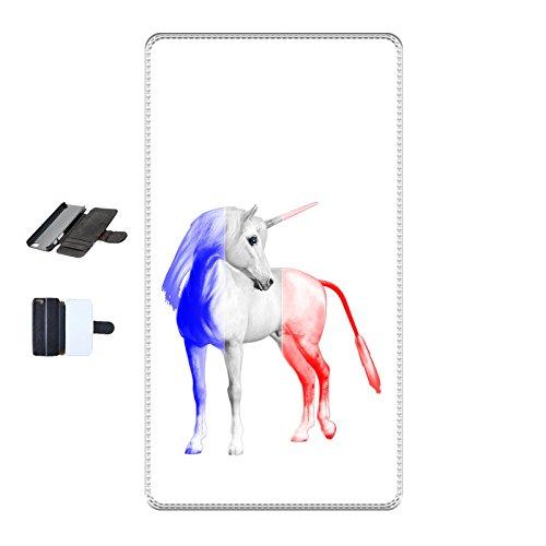 Housse Iphone 5-5s-SE - Licorne France blanc