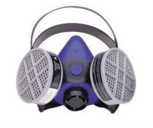 B260000 Blue Silicone 2000 Half Mask S-Series Facepiece. (2 Each) ()