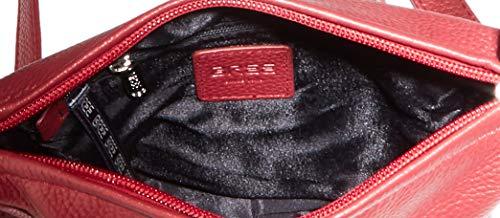 BREE dam Nola 1 axelväska, röd (Dark Red), 6 x 20 x 18 cm