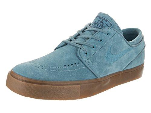 Nike Men's Zoom Stefan Janoski Noise Aqua/Noise Aqua Skate Shoe 9 Men - Aqua Nike Shoes