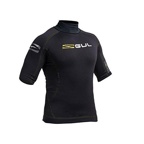 Gul Evotherm Mens Short Sleeve Thermal Wetsuit Rash Vest (Large)