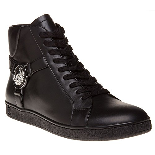 Versus Lion Hi-Top Ii Homme Baskets Mode Noir